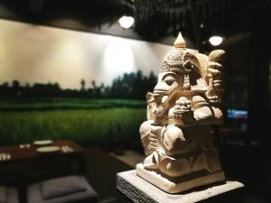 the uma bali balinese restaurant interior malaysia