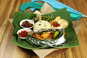 the uma bali balinese restaurant nasi ratus campur
